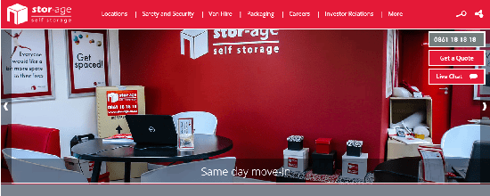 Stor-Age Launch New Customer Website