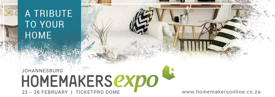 Win Big At The Homemakers Expo in Johannesburg!