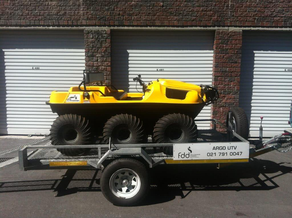Amphibious vehicle in self storage