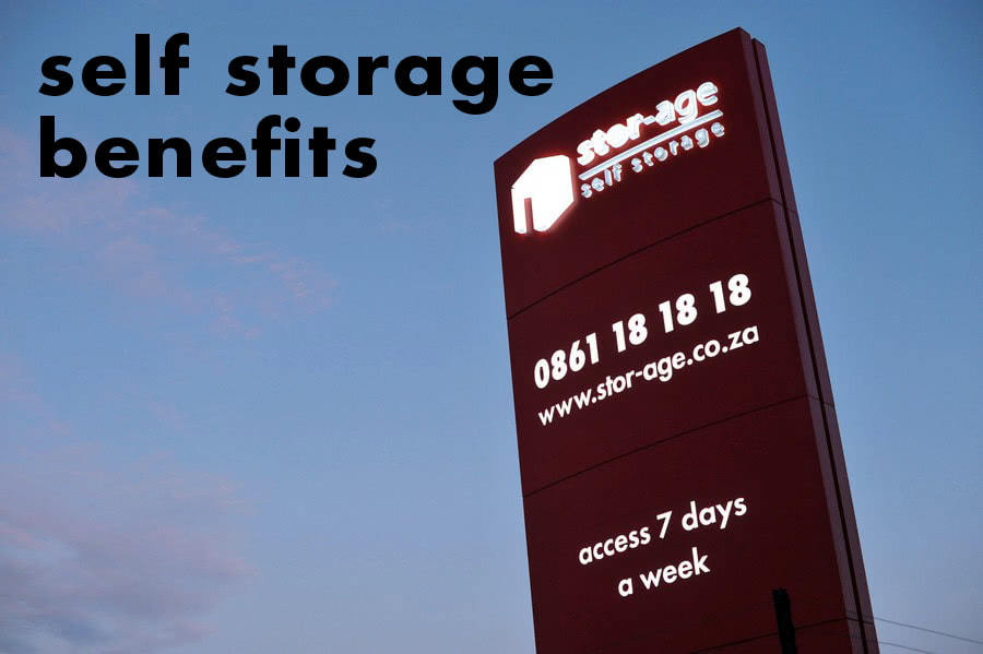 benefits of self storage