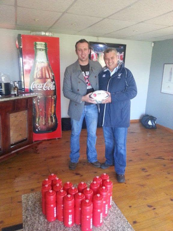 Adriaan at Kraaifontein Rugby Club