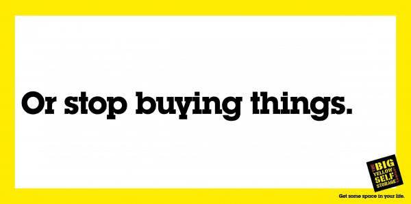 Big Yellow Self Storage - stop