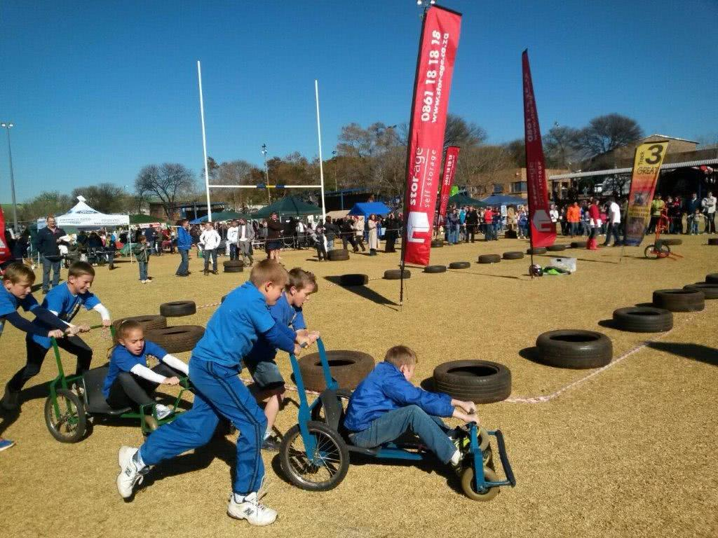 Laerskool Hennopspark Box Cart Race Day supported by Stor-Age
