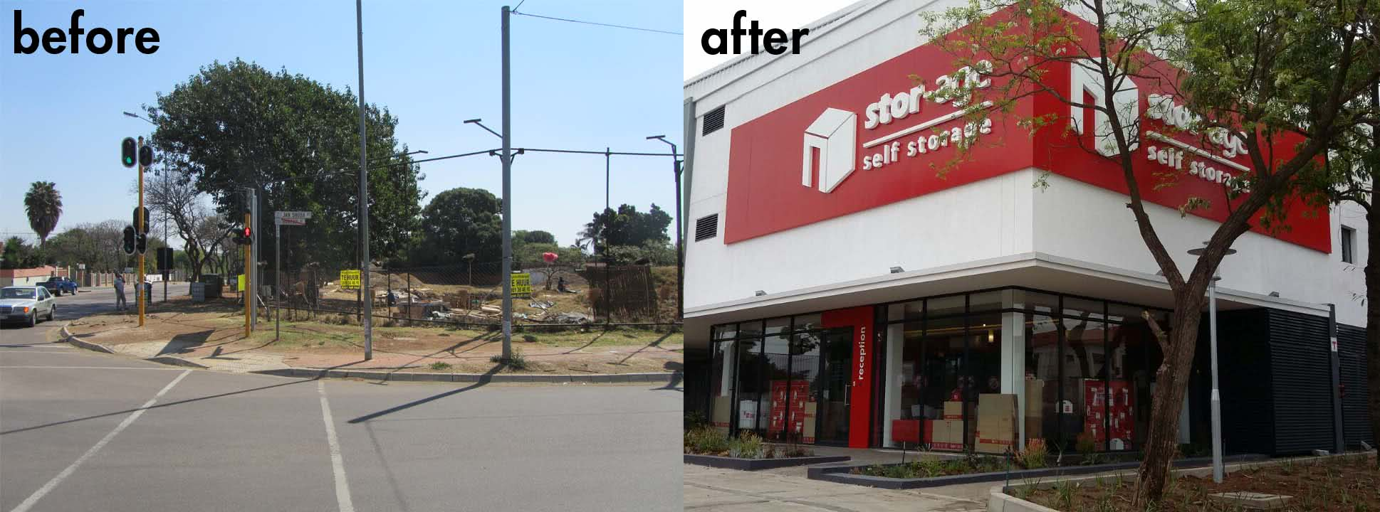 Stor-Age Brooklyn - before and after