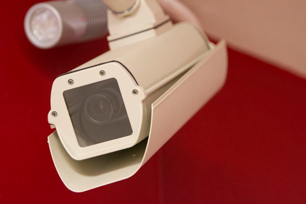 CCTV cameras in self storage