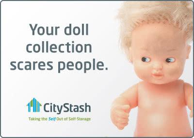 City Stash Self Storage - dolls