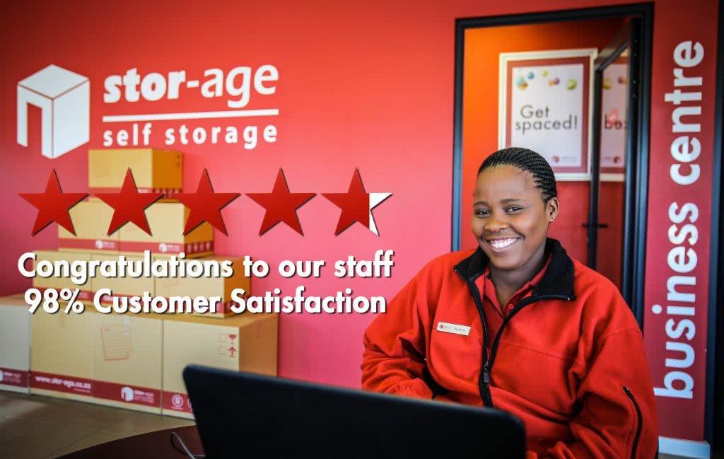 Stor-Age Self Storage customer satisfaction