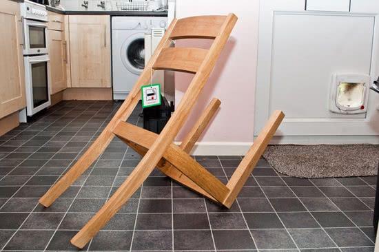 DIY fail - chair legs