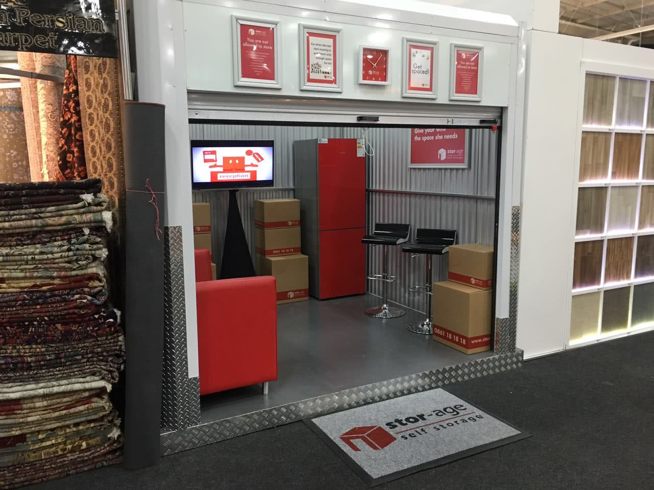 Decorex stand for Stor-Age Self Storage