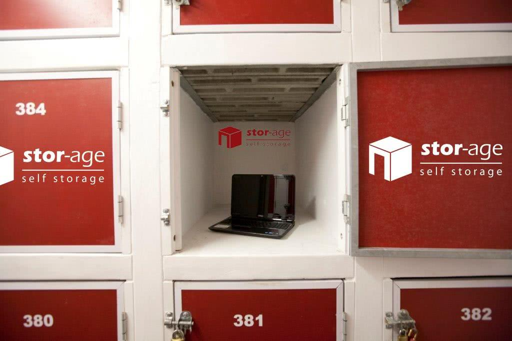 Fingerprint access vaults at Stor-Age Self Storage