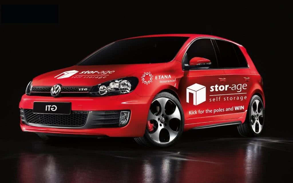 Stor-Age VW Golf GTI to be won at the Cape Town Tens