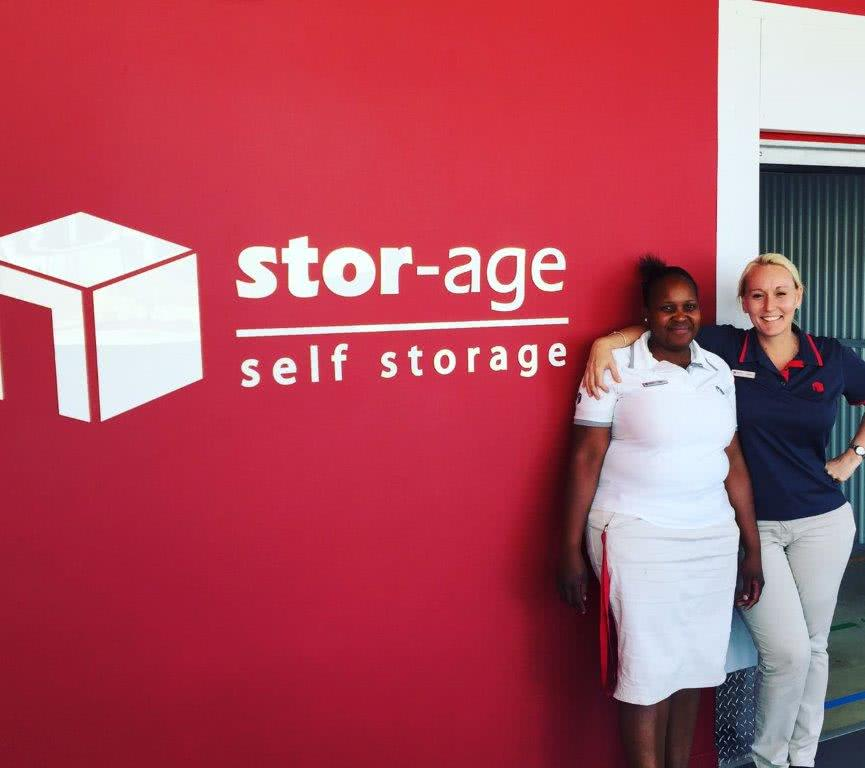 Gillooly's self storage staff