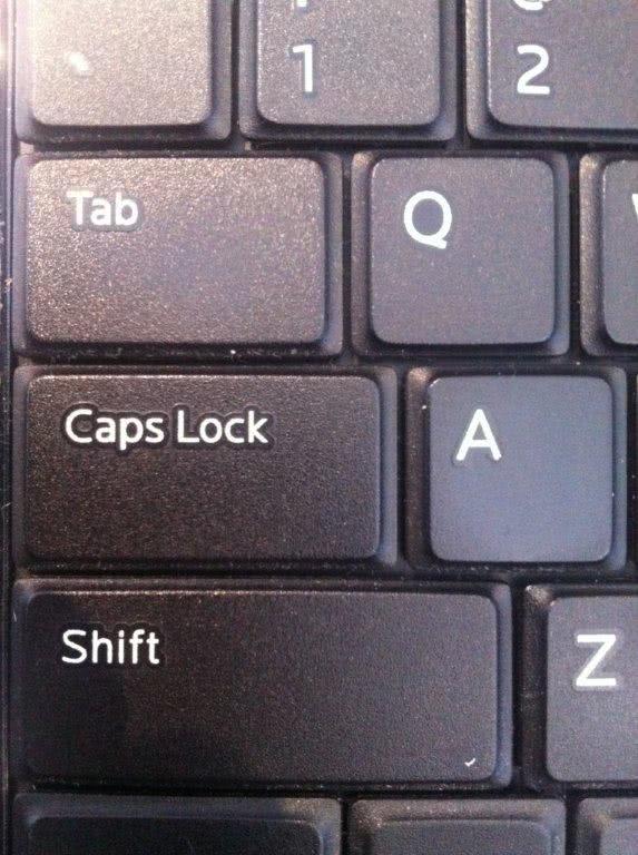 Stor-Age caps lock