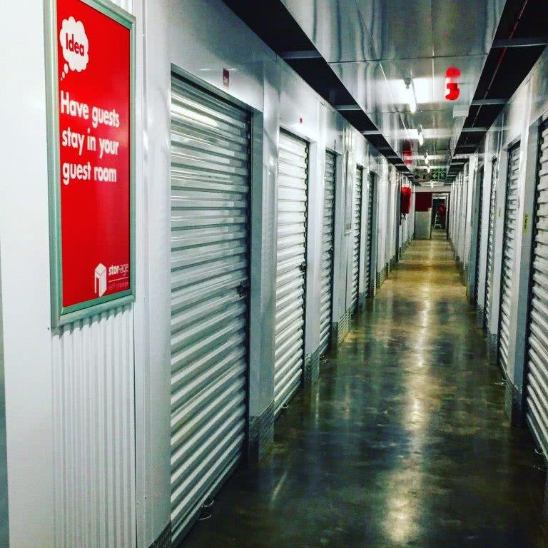 Internal self storage passage at Stor-Age Gillooly's
