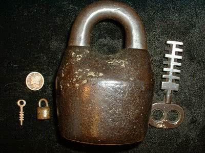 Large padlock