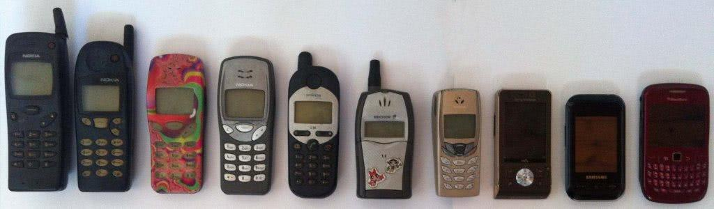 Old mobile phones to call self storage