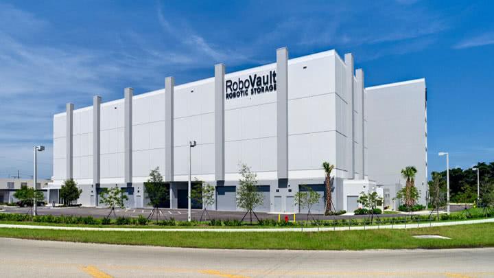 RoboVault storage facility