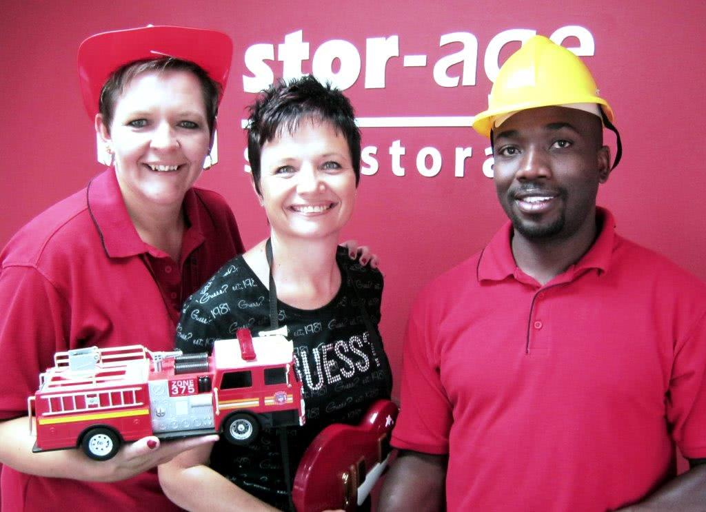 Samantha Rice Create Happiness at Stor-Age Boksburg