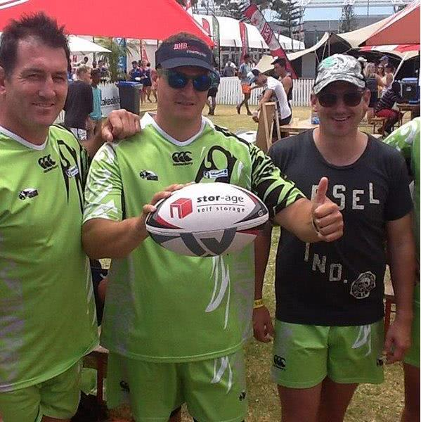 Silverbacks at the Cape Town Tens
