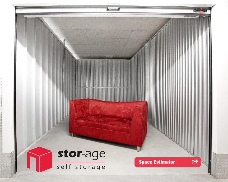 Stor-Age Self Storage Space Estimator