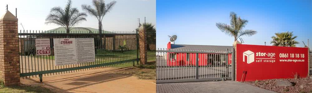 Stor-Age Grootfontein before and after