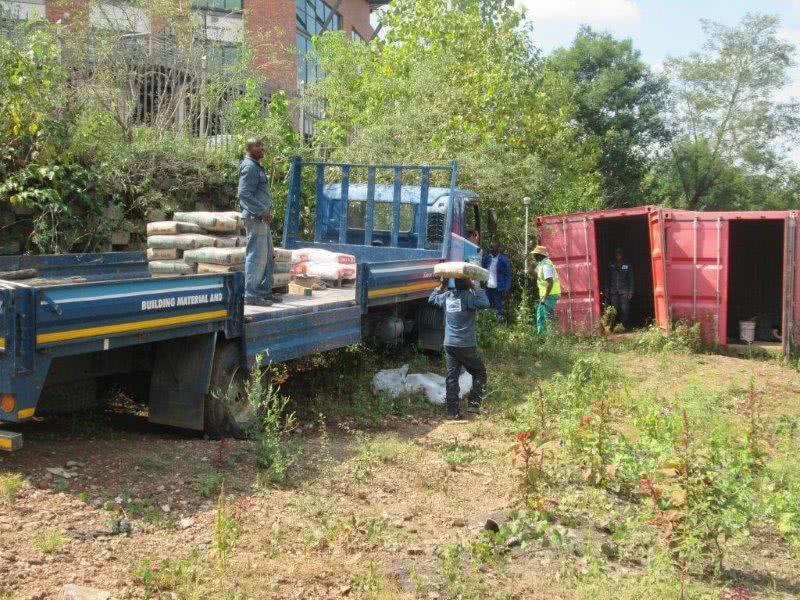 Stor-Age Self Storage Sunninghill in Johannesburg begins construction 1