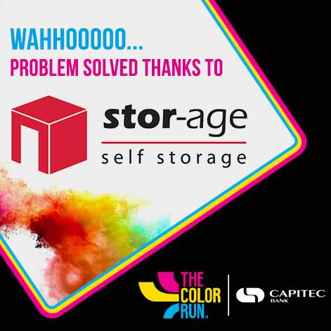 Stor-Age sponsors the color run South Africa