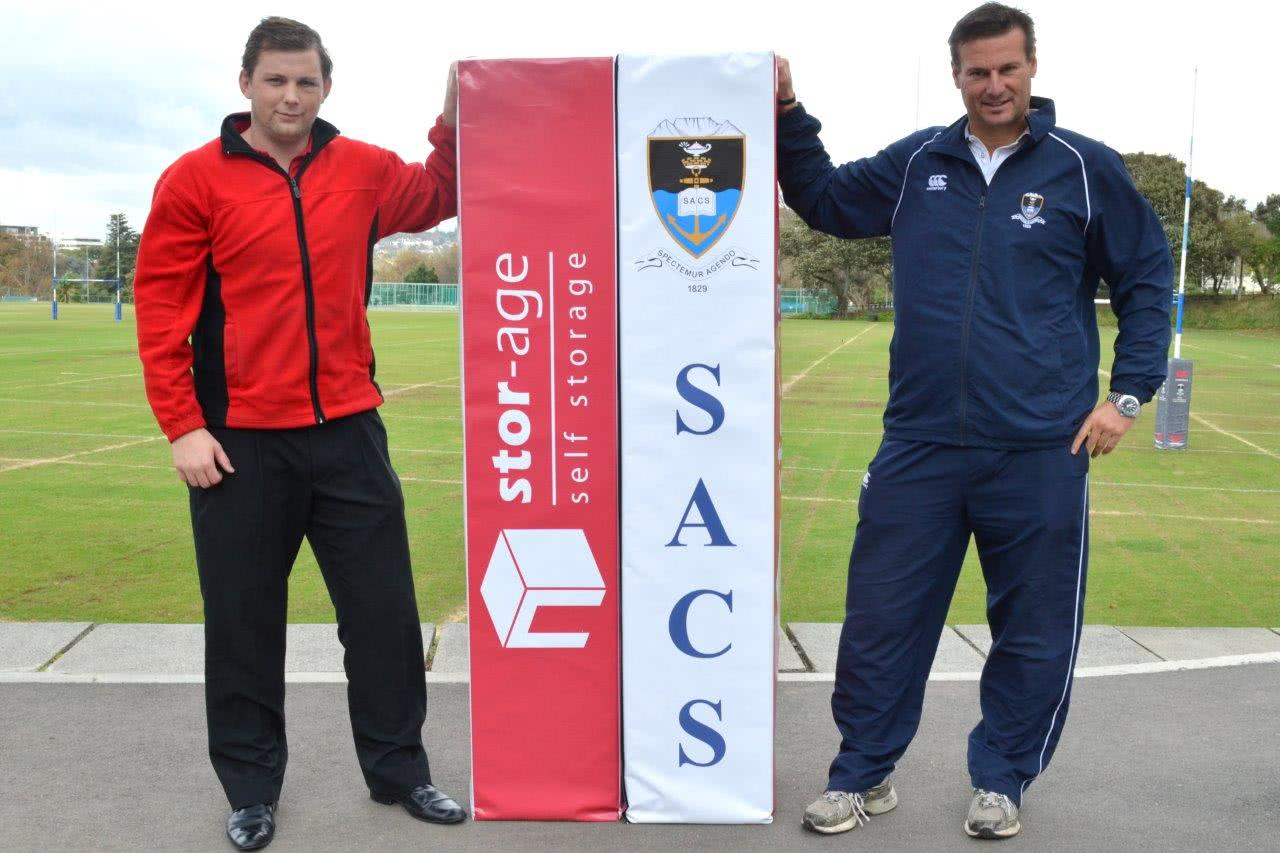 Stor-Age sponsors SACS rugby pole protectors
