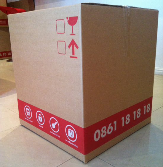 Storage packaging boxes from Stor-Age Self Storage