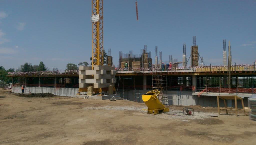 Sunninghill construction progression Oct15