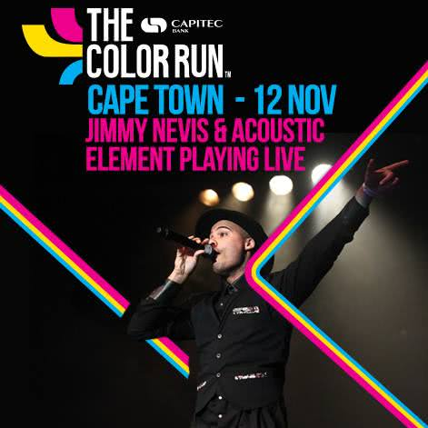 The Stor-Age Color Run Cape Town with Jimmy Nevis