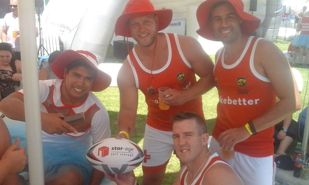 West Coast Crew at the Cape Town Tens