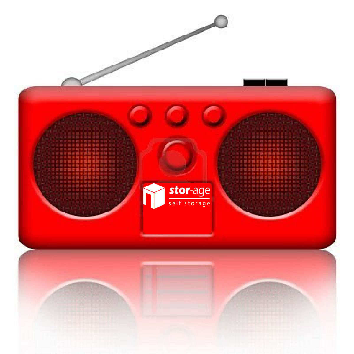 Stor-Age red radio advert