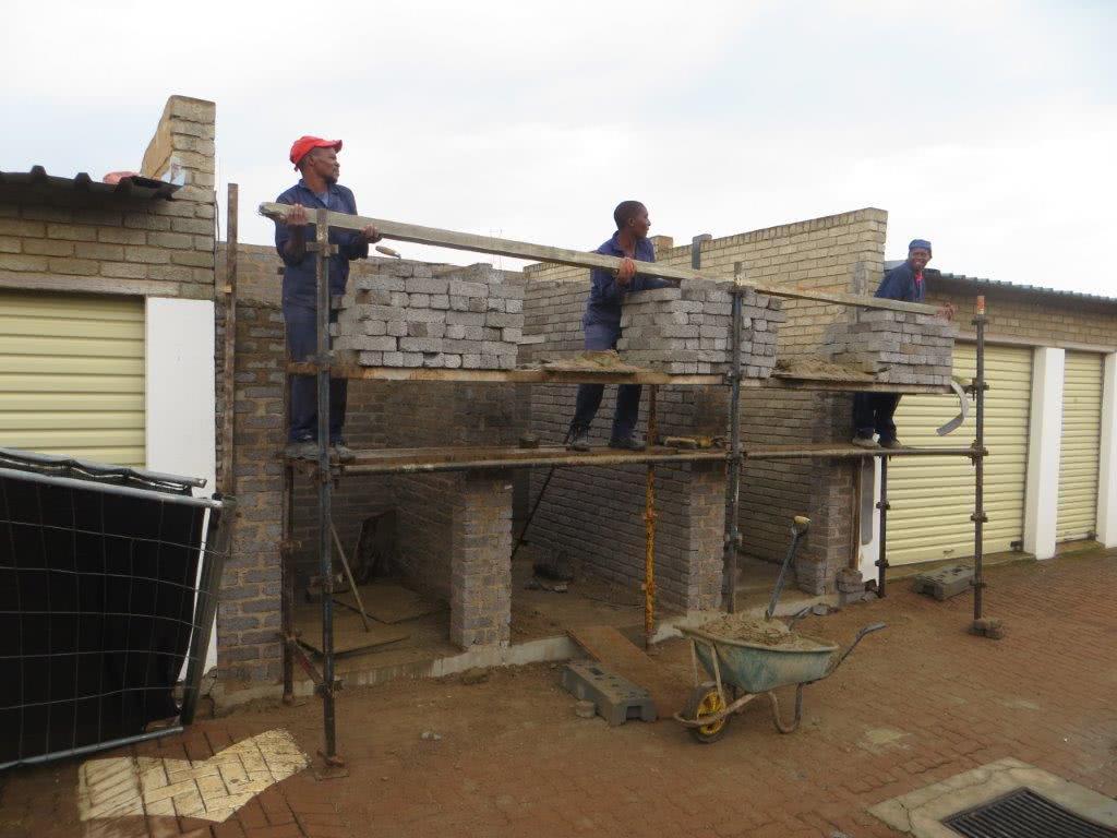 Stor-Age Midrand construction Jan 2016