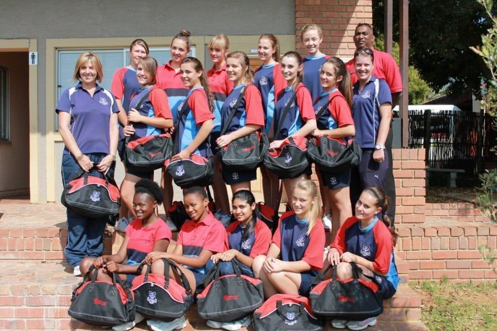 Kempton Park Maranantha Christian Schools girls Netball team