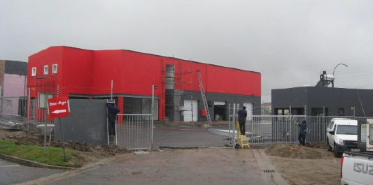 Stor-Age Bellville self storage store under construction