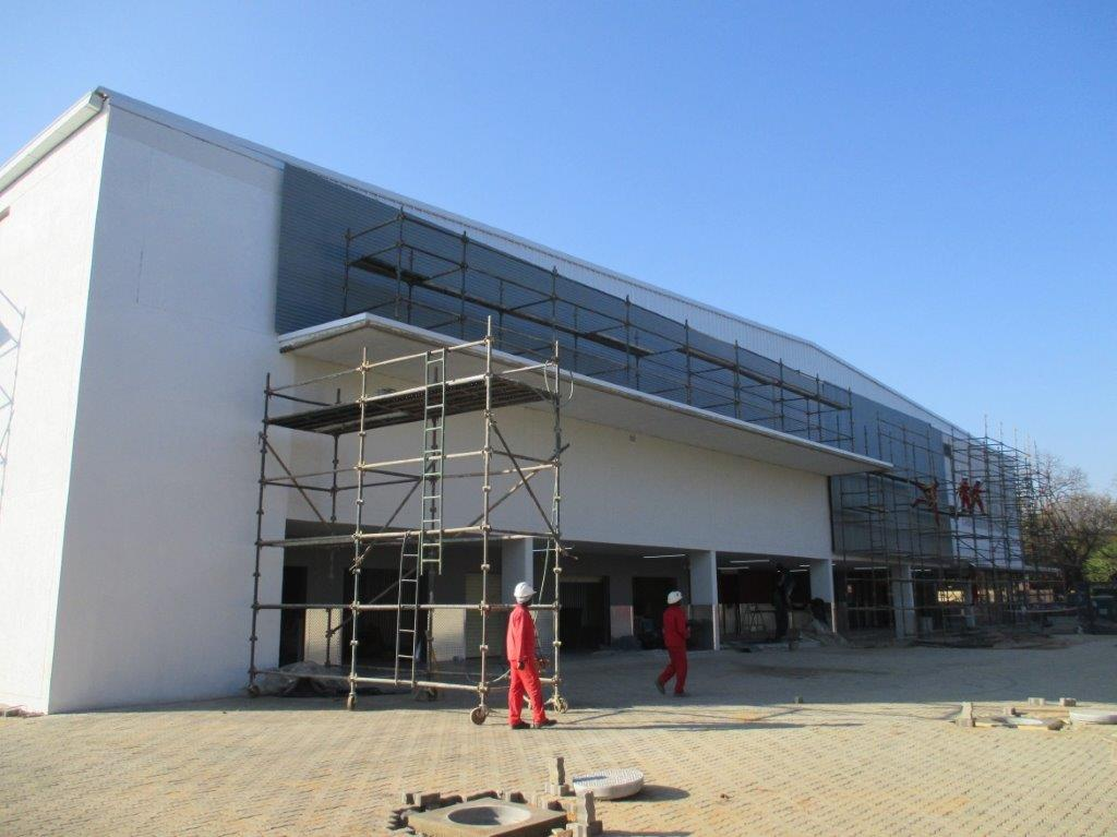 Stor-Age Self Storage Brooklyn in Pretoria under construction