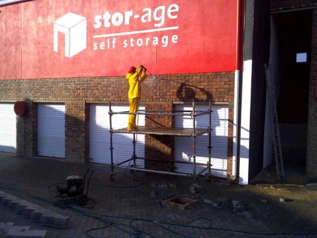 Stor-Age Centurion self storage construction