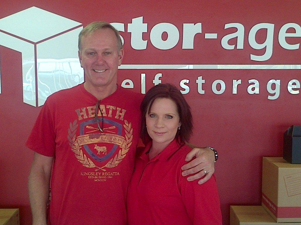Gary Bailey use Stor-Age Self Storage