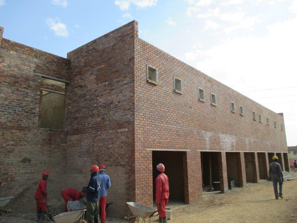 Stor-Age Self Storage Kempton Park in Johannesburg under construction