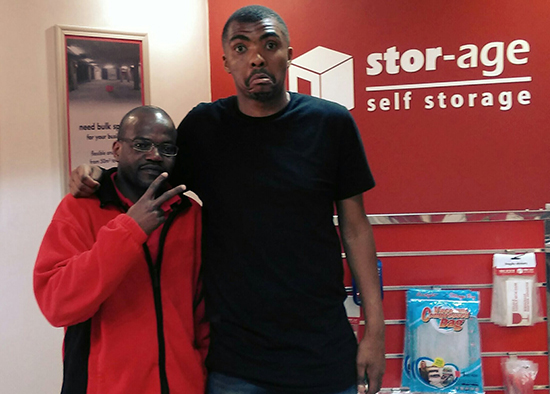 Loyiso Gola Moves In At Stor-Age JHB City