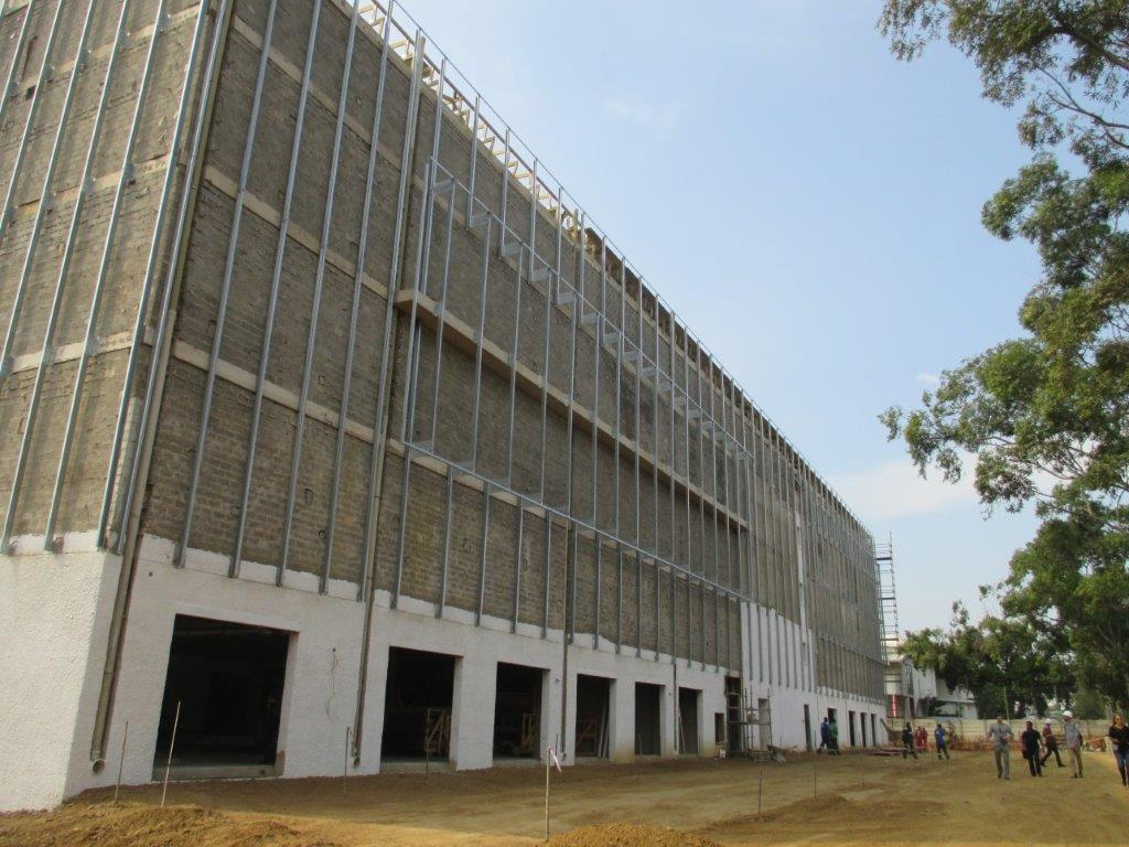 Stor-Age Self Storage Mount Edgecombe in Durban under construction
