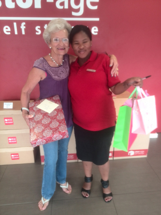 Pamela happy customer
