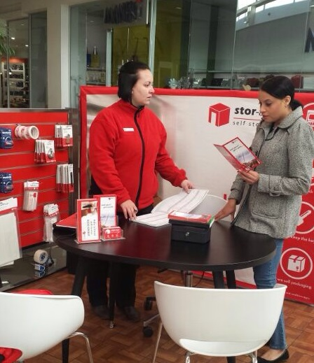 Stor-Age Woodlands Mall activation in Pretoria