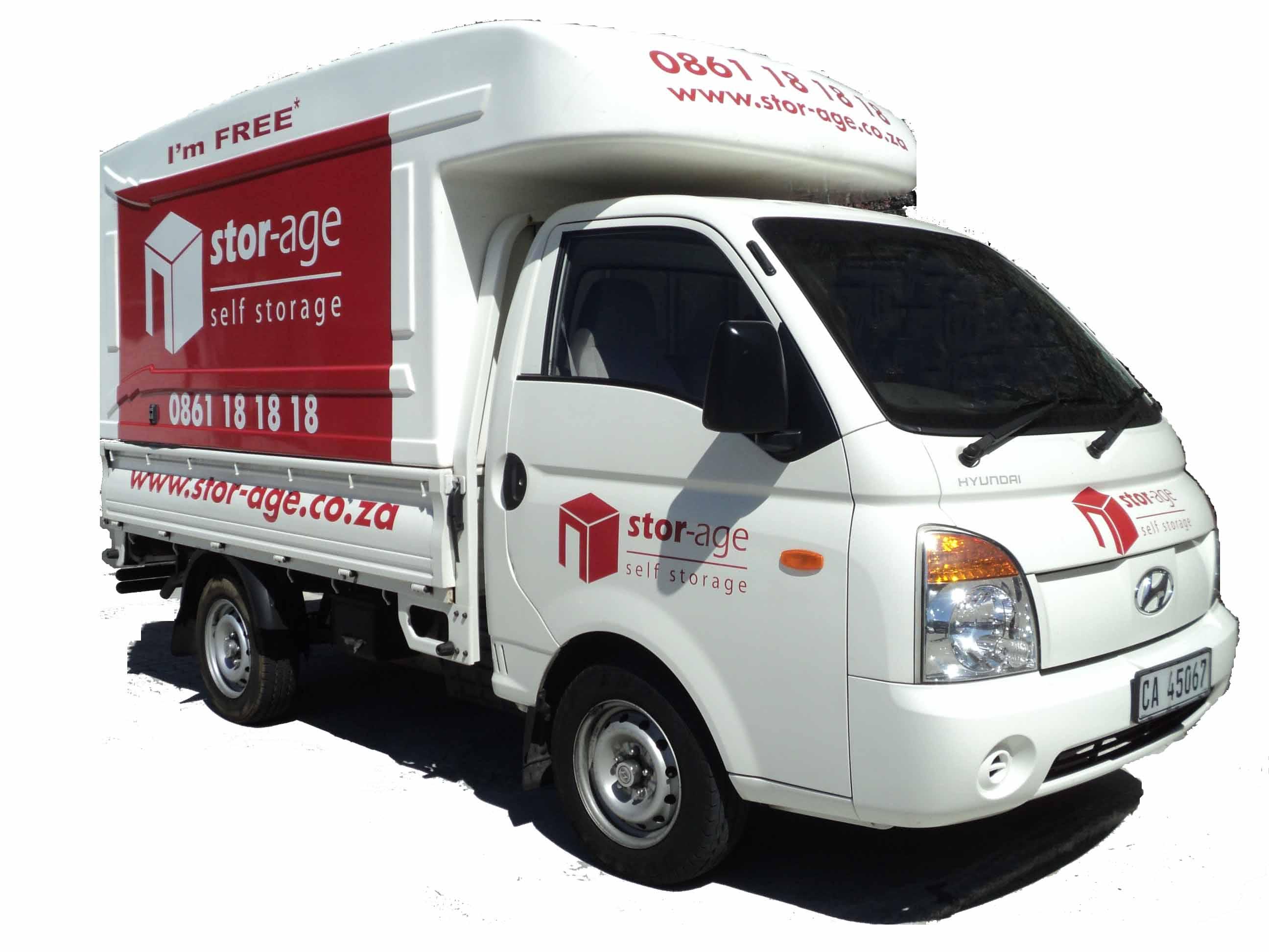 Stor-Age Self Storage Van