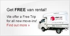 Stor-Age Self Storage free van rental