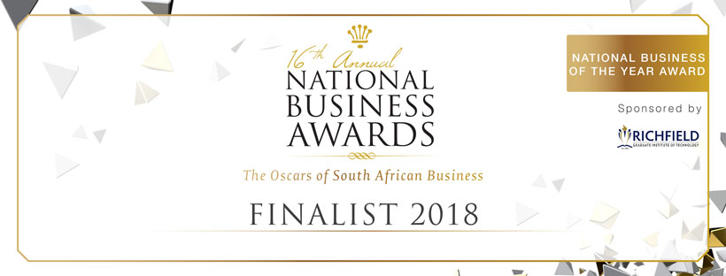 National Business of the Year Award Finalist