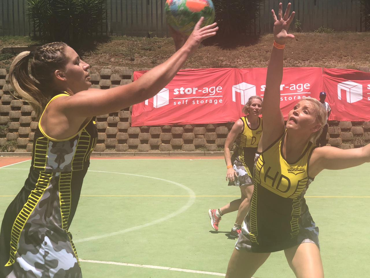 Netball at Stor-Age OBX