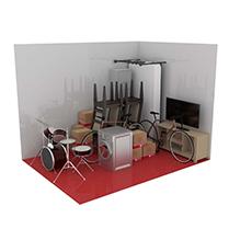 12 square metre storage unit