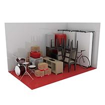 15 square metre storage unit
